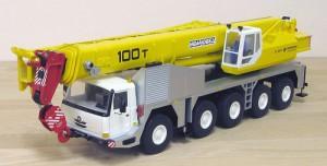 Мини модель автокрана КС-8973