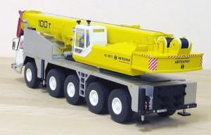 Мини модель автокрана Ивановец 100 тонн