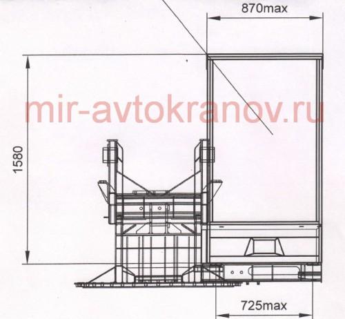 Круглая кабина крановщика Машека Клинцы